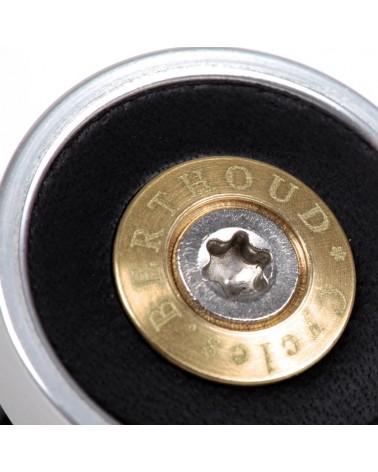 Bouchon de cintre cuir aluminium anodisé Berthoud
