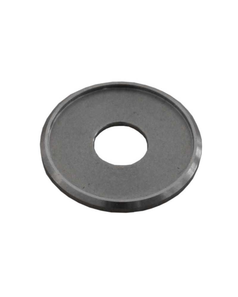 Rondelle Inox contact à braser sur patte acier