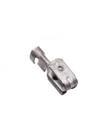 Crimp Connectors 4,8 x 0,8 mm, Piggy-back spade