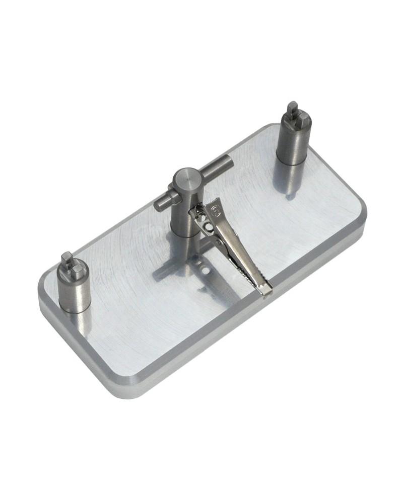 DIspositif de soudure de connecteurs coaxiaux