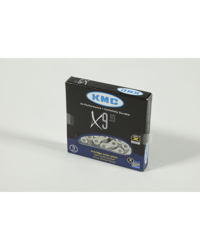 Chaine KMC X9-93  9V 116 maillons