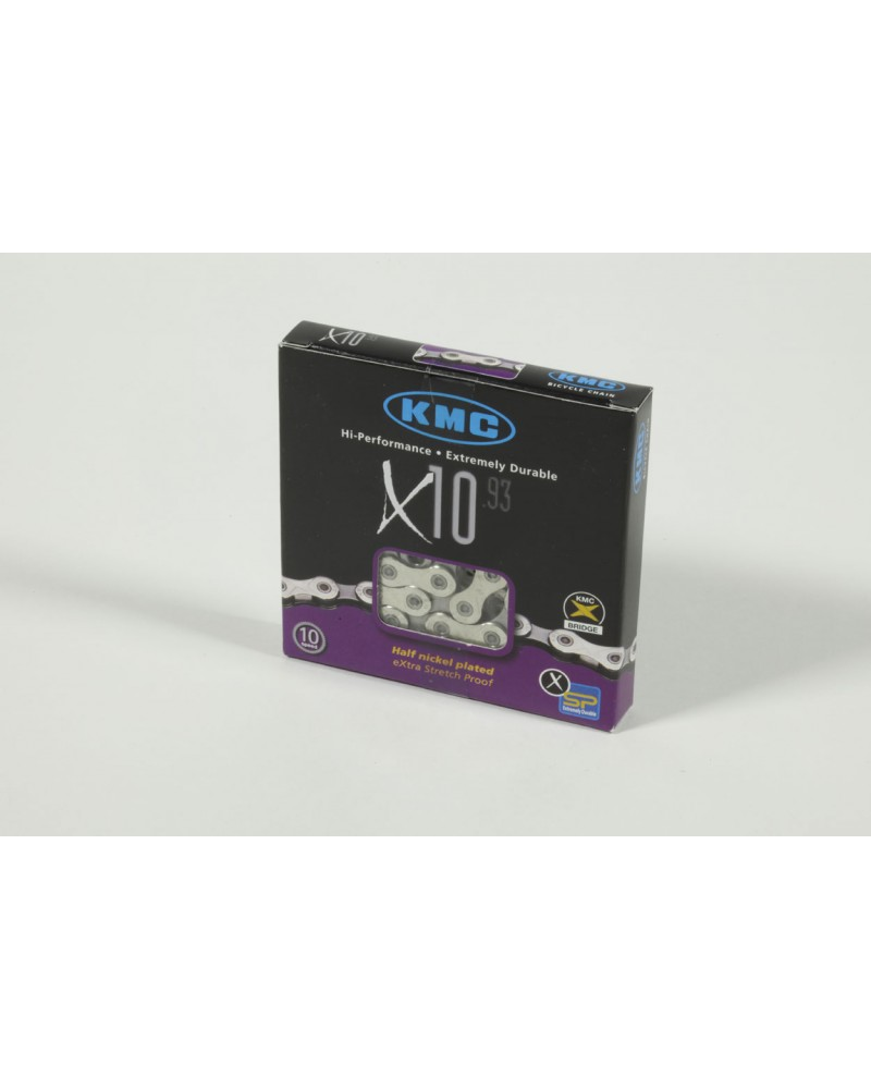 Chaine KMC X10-93 10V 116 maillons