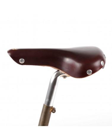 Selle vélo cuir ville Berthoud Mente
