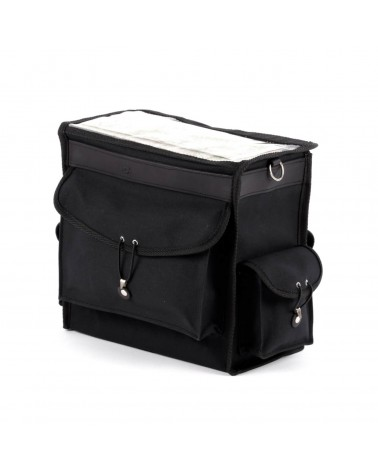 Handlebar bag black on black berthoud