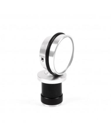 bar-end mirror berthoud silver anodized aluminum randonneur