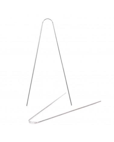 Paire tringles aluminium pour garde-boue Berthoud