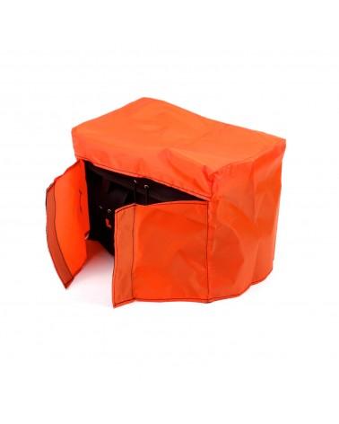 housse sacoche imperméable berthoud poly ripstop orange