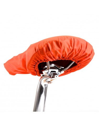 couvre selle imperméable ripstop polyester orange