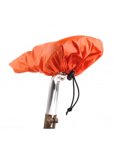 ripstop polyester blaze orange saddle rain cover