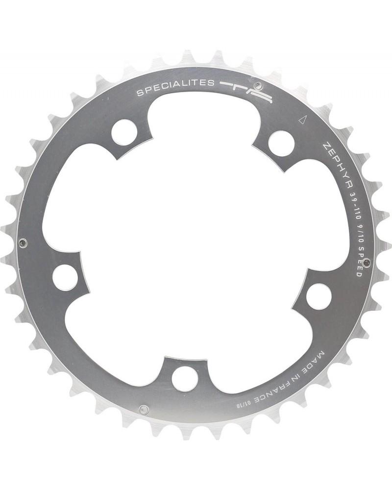 spécialités TA chainring compact BCD110 silver 9sp 10sp