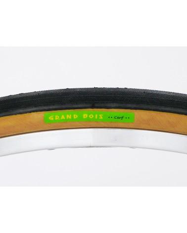 Grand Bois Folding tire cerf vert 700c 28mm