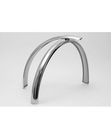 Stainless bicycle fenders Berthoud