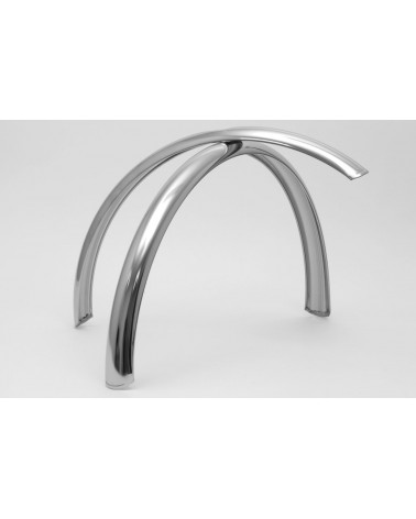 Stainless bicycle fenders Berthoud