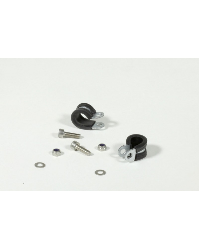 Seatstay clamps (pair) Ø16
